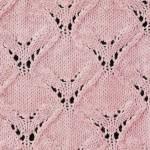 Diamond Wings Knitting Stitch