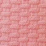 Basket-weave Knitting Stitch Pattern