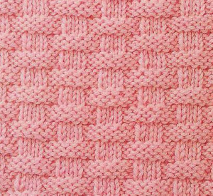 basketweave knitting pattern free