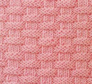 Basket Weave Knitting Stitch Pattern Knitting Kingdom