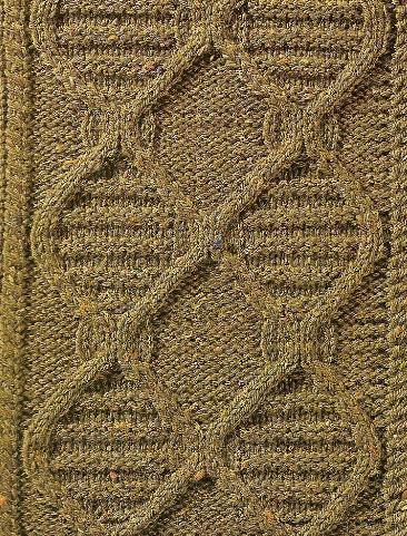 braids cables pattern stitch