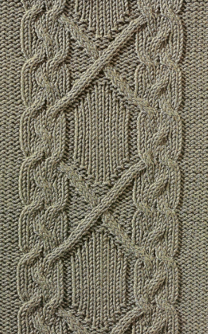 cable pattern panel
