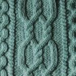 Aran Cable Knitting Stitch