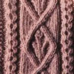 Aran Cable Knitting Stitch 5