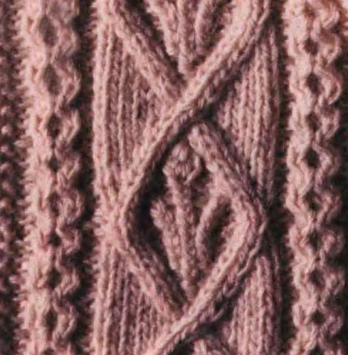 Aran Cable Knitting Stitch 5