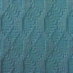Knit and Purl Stitch Texture