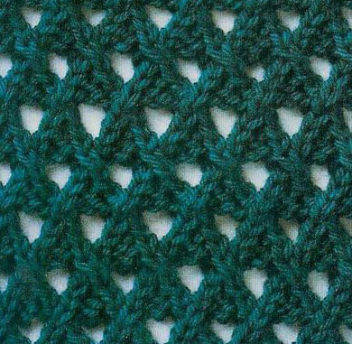 Mesh Knitting Stitch Patterns Knitting Kingdom