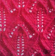 Tulip Pattern Knit Stitch