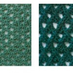 Mesh Knitting Stitch Patterns