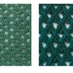Mesh Knitting Stitch Patterns
