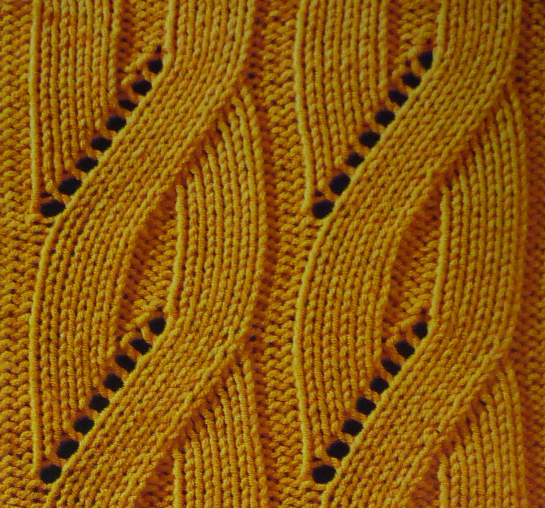 Mock Cable Pattern Knitting - Knitting Kingdom