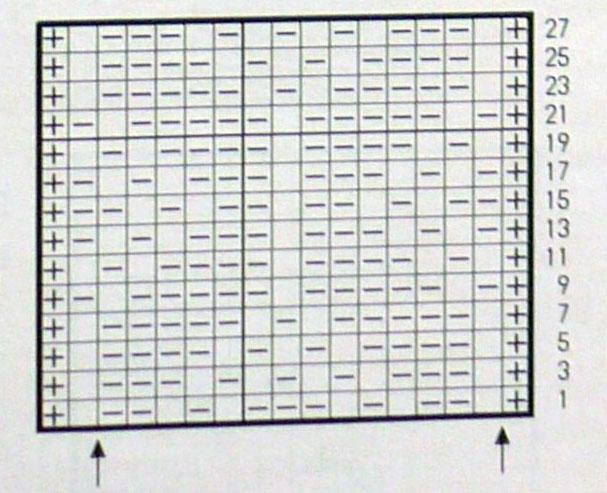 moss-diamond-texture-knitting-stitch-chart