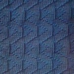 Knit and Purl Stitch Relief