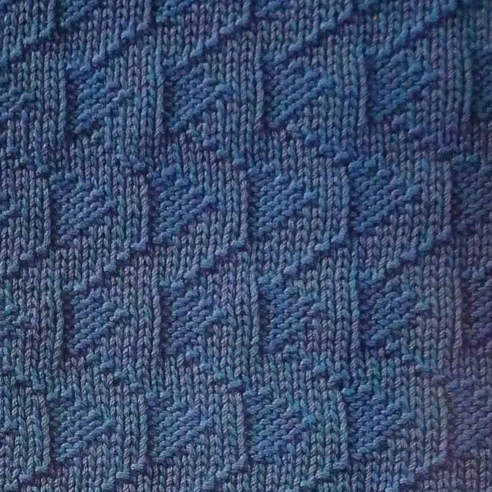 How To Purl Stitches In Knitting : Knit and Purl Stitch Relief - Knitting Kingdom