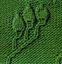 relief-knitting-pattern-leaves