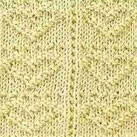 Heart Stitch Knitting Pattern