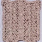 Herringbone Ripple Knitting Stitch