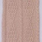 Knit & Purl Diamonds and Twist