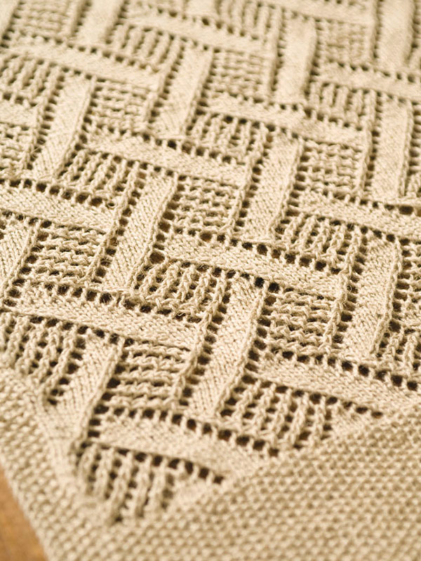Diamond Lace Stitch Pattern Knitting Kingdom Best Diamond Knitting Pattern