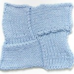 Four Star Entrelac Knitting Stitch