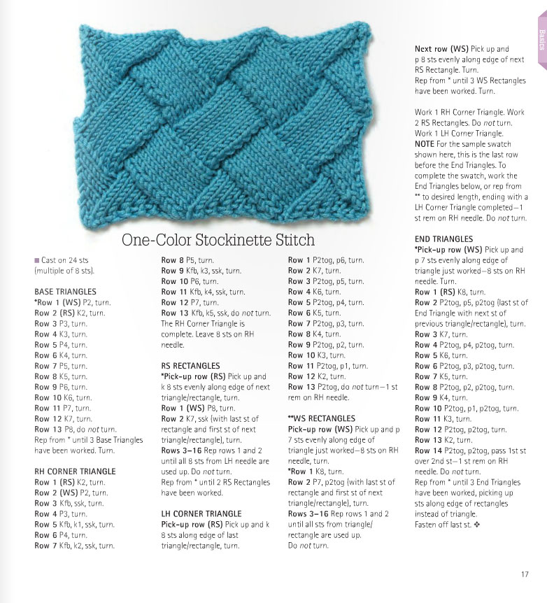 one-coloe-stochinette-entrelac-stitch