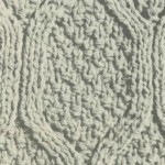 Textured Window Knitting Stitch