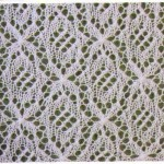 Free Fancy Lace Knitting Stitch