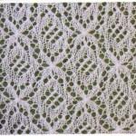Free Fancy Lace Knitting Stitch