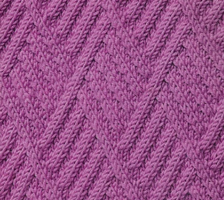 cable-diamonds-stitch-pattern