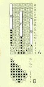 three-leaf-motif-knitting-chart-1