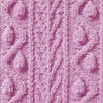 Vines Cable Knitting Stitch