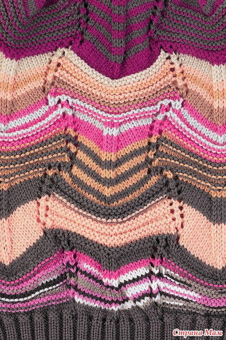 Missoni Style Knitting Stitches - Knitting Kingdom