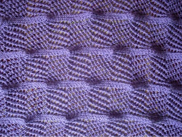 Three dimensional KNitting Stitch pattern
