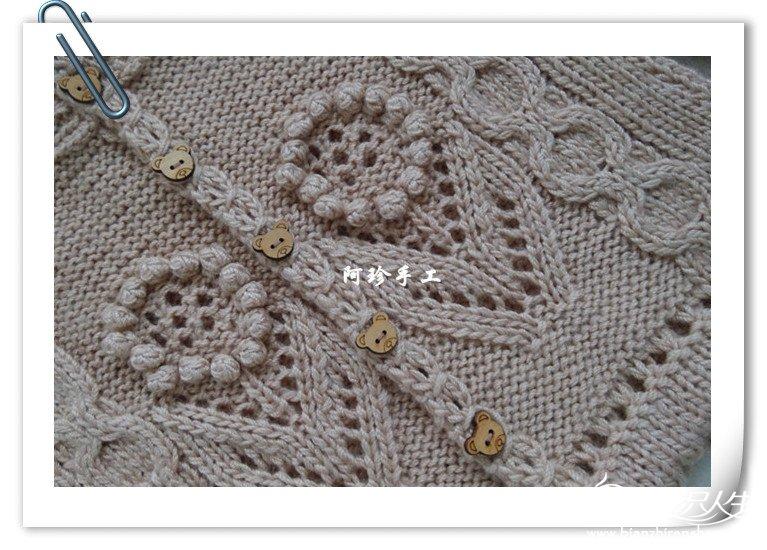 Flower Bobble Knit Knitting Kingdom