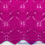Pretty Lace Knitting Stitch Chart