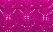 Pretty Lace Knitting Stitch Chart