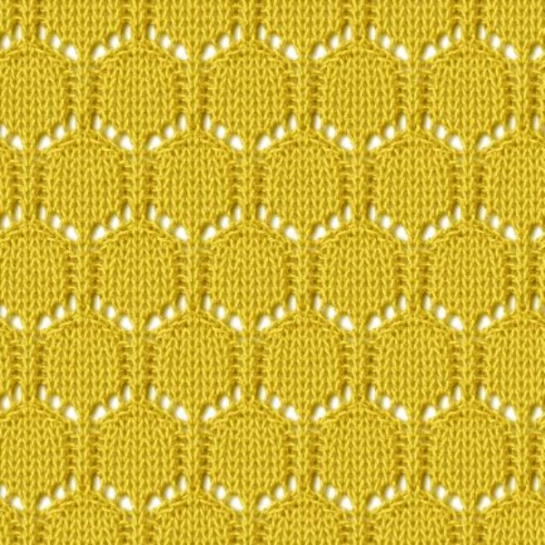 Ажурные узоры lace knitting stitch