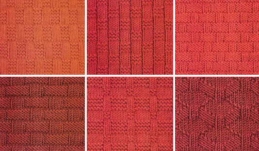 Knitting Stitches Weaving : Basket Weave Knitting Stitch 6 Variations - Knitting Kingdom