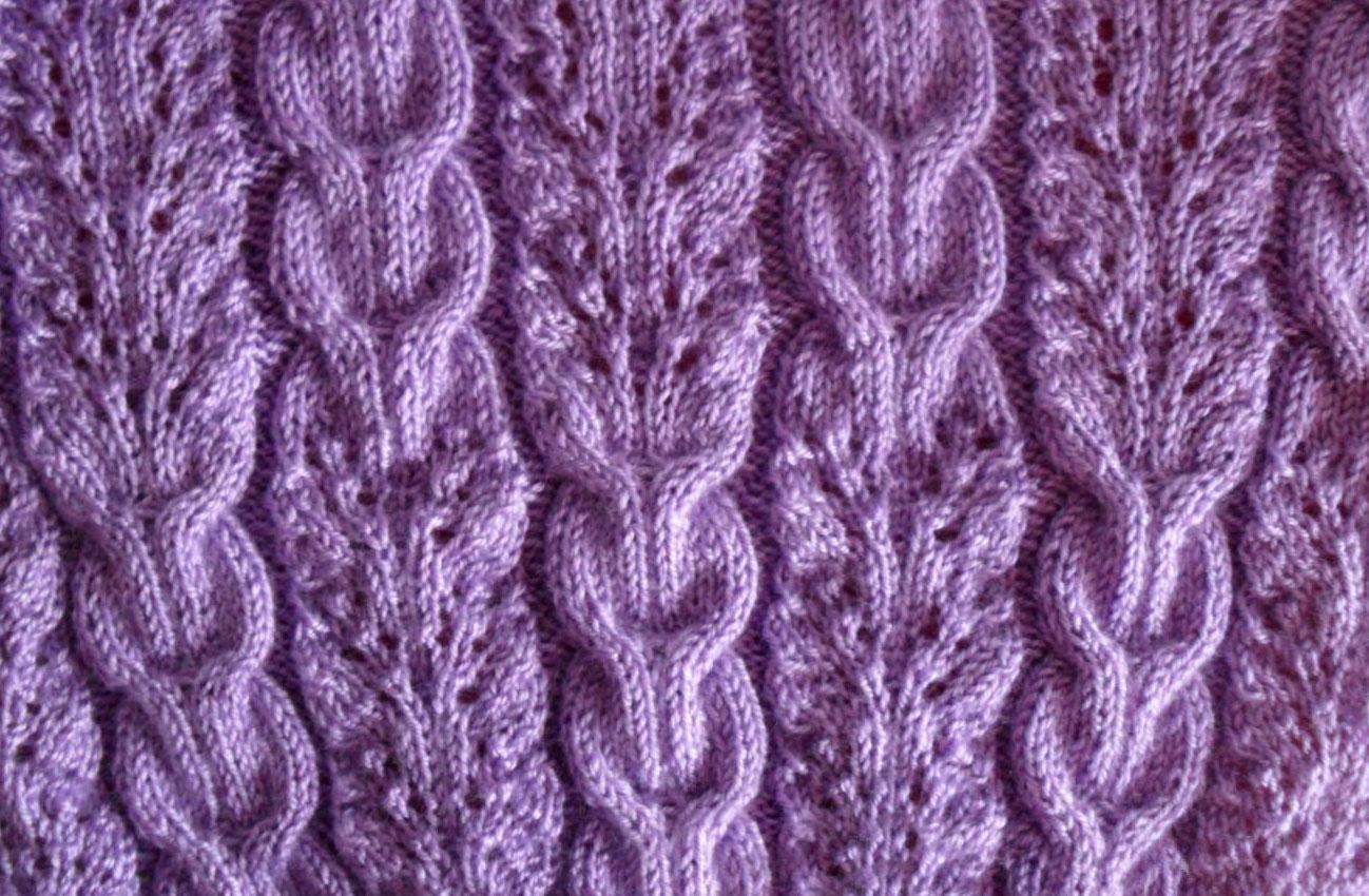 Lace-and-Braids-Ribbed-Knitting-Stitch