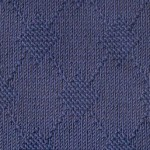 Large Texture Argyle Free Knitting Stitch