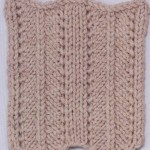 Herringbone Knitting Stitch Variation