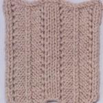 Herringbone Knitting Stitch Variation
