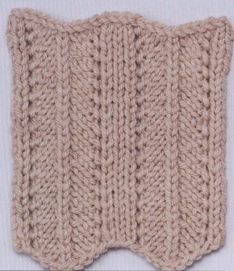 Herringbone Knitting Stitch Variation - Knitting Kingdom