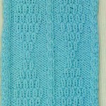 Diamond Motif Free Knitting Stitch