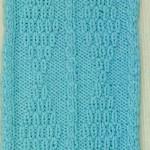 Diamond Motif Free Knitting Stitch