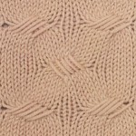 Wavy Multiple Slip Stitch Pattern