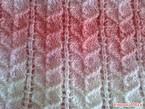 Ribbed Heart Knitting Stitch Pattern Knitting Kingdom