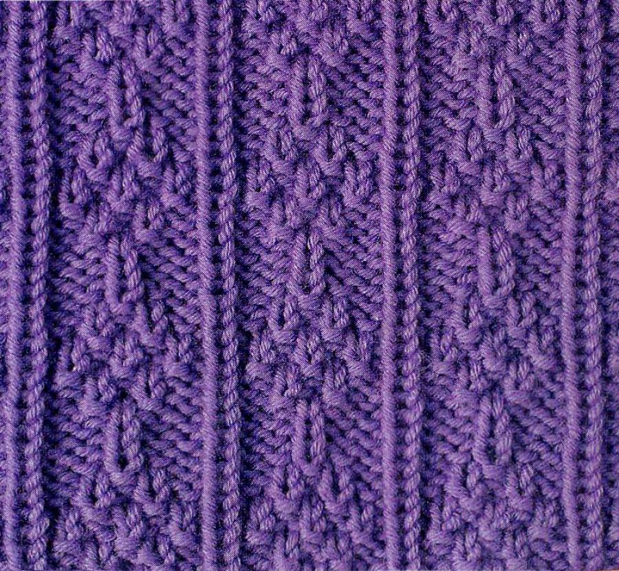 Trees Knitting Pattern Stitch Free Knitting Kingdom