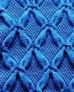 Beautiful knitting patter with volume