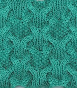 Open Mesh Knitting Stitches : Cables - Page 5 of 14 - Knitting Kingdom (132 free knitting patterns)